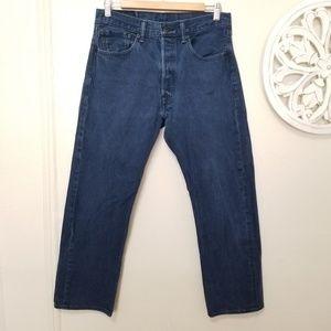 Levi's 501 size 32 straight leg jeans